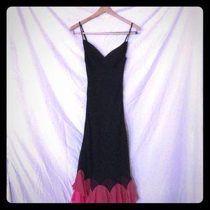 Betsy Johnson ruffle dress